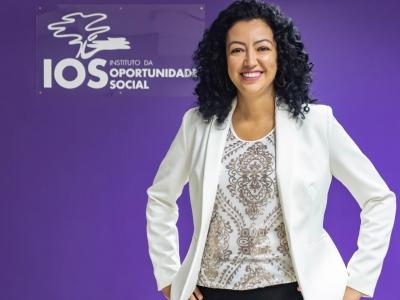 """""""Não há solução a não ser aproximar as empresas dos programas sociais"""" - Por Kelly Lopes - Superintendente do IOS"""